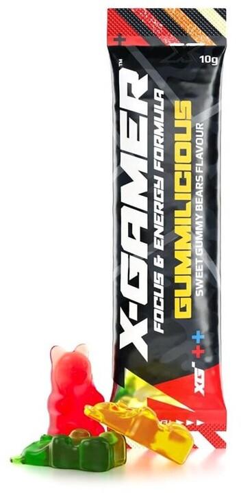 Doplněk stravy X-Gamer X-Shotz - Gummilicious, 10g