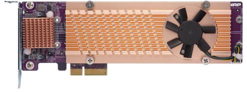 QNAP QM2-4S-240 - Quad rozšiřující karta pro disky SSD M.2 2280 SATA