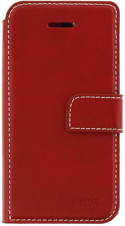 Molan Cano Issue Book Pouzdro pro iPhone 7/8, červená