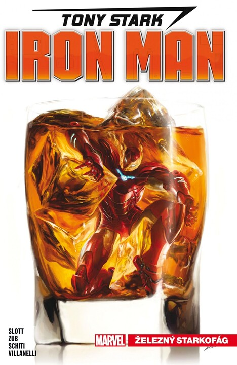 Komiks Tony Stark - Iron Man: Železný starkofág, 2.díl, Marvel