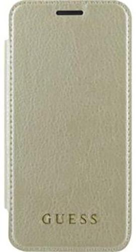 Guess IriDescent Book Pouzdro pro Samsung Galaxy A3 2017, Gold