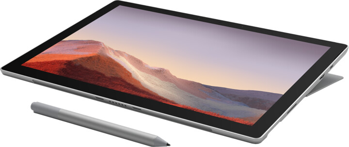 Microsoft Surface Pro 7, platinová