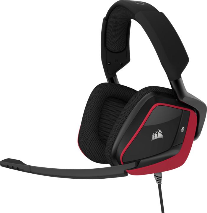Corsair Gaming VOID Pro Surround, červená