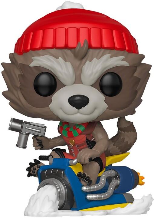 Figurka Funko POP! Marvel - Rocket Holiday