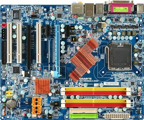 Gigabyte GA-N650SLI-DS4 - nForce 650i SLi