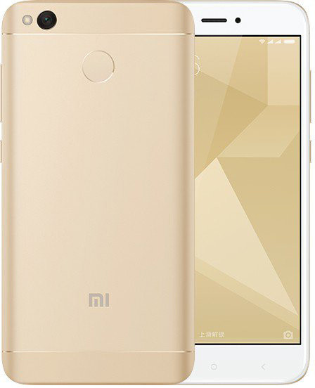 Xiaomi Redmi 4X - 32GB, Global, zlatá