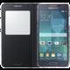 Samsung S-view EF-CG850B flipové pouzdro pro Galaxy Alpha (SM-G850), černá
