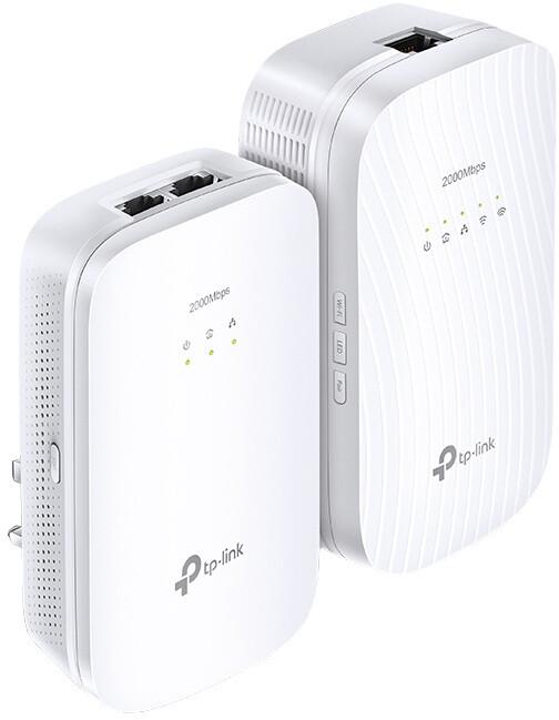 TP-LINK TL-WPA9610KIT 2000Mbps WiFi Powerline Extender Kit