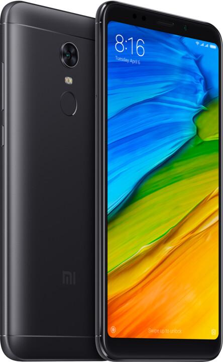 Xiaomi Redmi 5 Plus Global - 64GB, černá