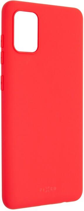 FIXED Story zadní pogumovaný kryt pro Samsung Galaxy A31, červená