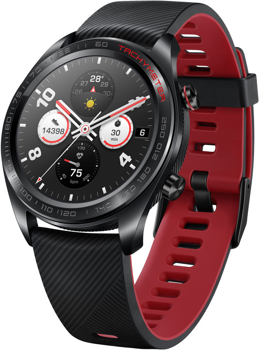 Honor Watch Magic, černá