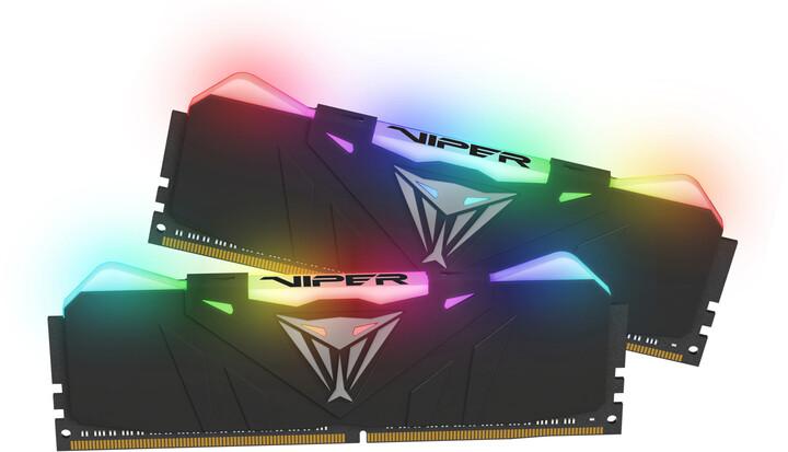 Patriot VIPER RGB 16GB (2x8GB) DDR4 3600 CL17, černá