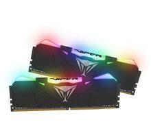 Patriot VIPER RGB 16GB (2x8GB) DDR4 3200, černá CL 16 PVR416G320C6K