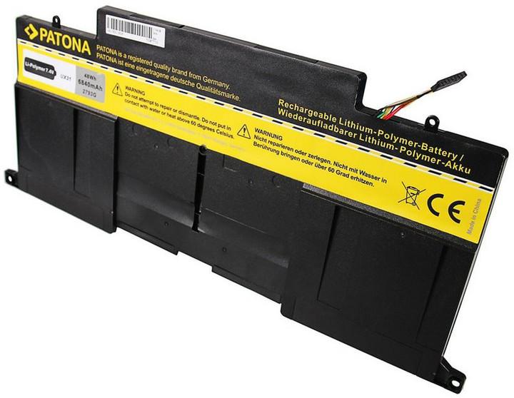 Patona baterie pro ntb ASUS UX31 6840mAh Li-Pol 7,4V C22-UX31