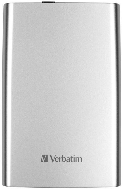 Verbatim Store 'n' Go, USB 3.0 - 1TB, stříbrný