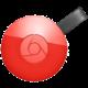 Google Chromecast 2, červená  + Voucher až na 3 měsíce HBO GO jako dárek (max 1 ks na objednávku)