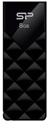 Silicon Power Ultima U03 8GB, černá