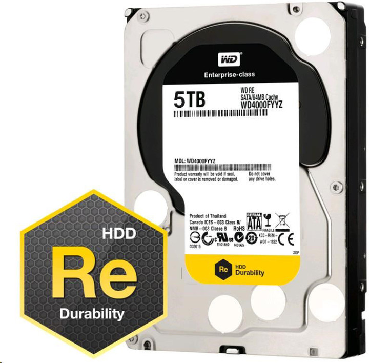 WD RE+ Raid edition - 5TB