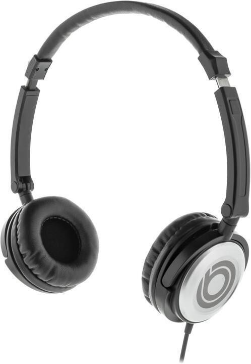 BUXTON BHP 8000 sluchátka, černá