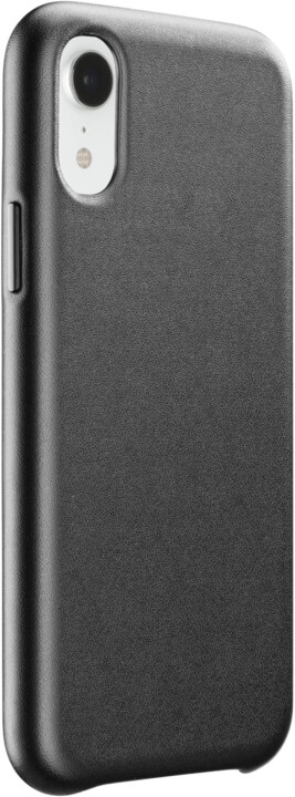 CellularLine ochranný kryt Elite pro Apple iPhone Xr, PU kůže, černá