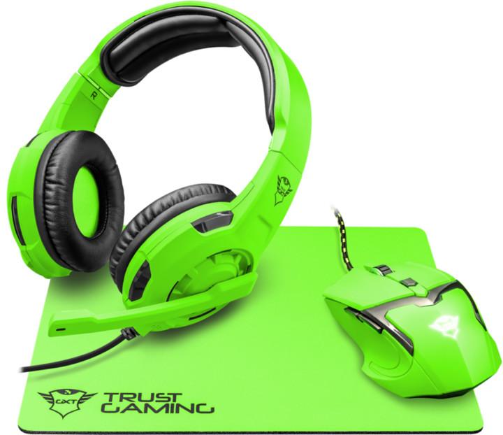 Trust GXT 790-SG Spectra set, zelená