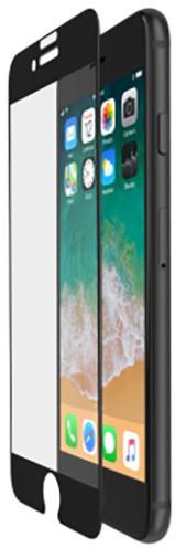 Belkin Tempered Glass ochranné sklo displeje pro iPhone 6/6s/7/8 - černé, s instalačním rámečkem