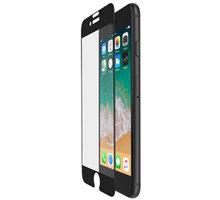 Belkin Tempered Glass ochranné sklo displeje pro iPhone 6/6s/7/8 - černé, s instalačním rámečkem - F8W853zzBLK