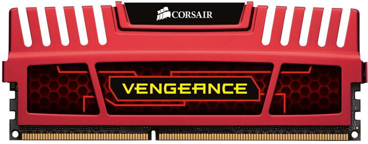 Corsair Vengeance Red 8GB (2x4GB) DDR3 1866