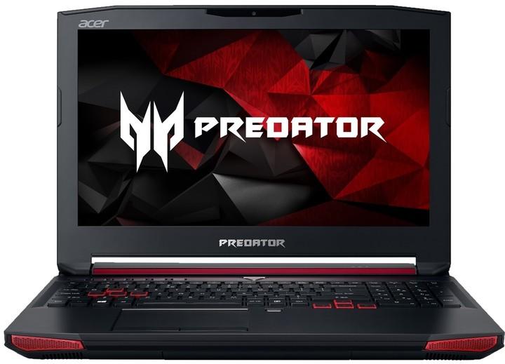 Acer Predator 15 (G9-592-777N), černá