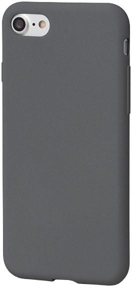 EPICO pružný plastový kryt pro iPhone 7 EPICO RUBY - šedý