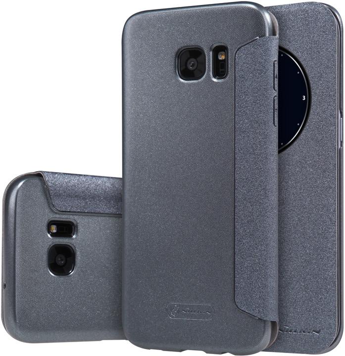 Nillkin Sparkle S-View Pouzdro pro Samsung G935 Galaxy S7 Edge Black