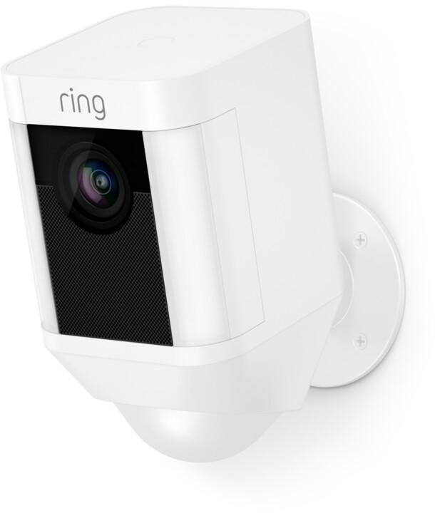 Ring Spotlight Cam - Battery, White