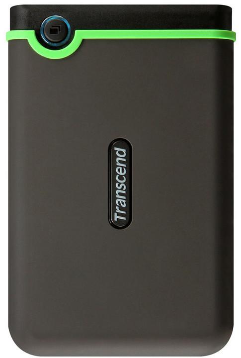 Transcend StoreJet 25M3 - 1TB, šedozelený