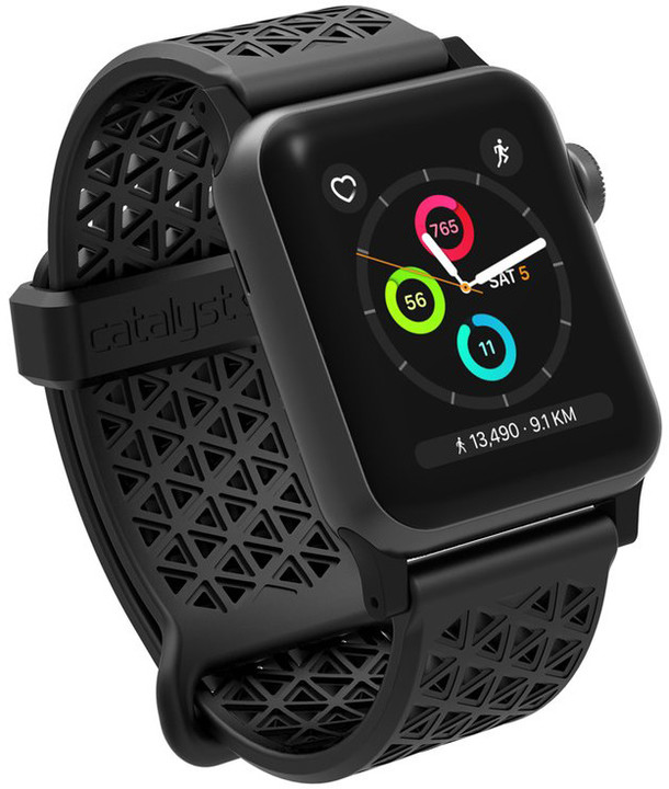 Catalyst Sport Band, black - Apple Watch 38mm