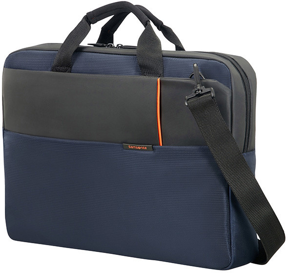 "Samsonite QIBYTE LAPTOP BAG 17.3"" BLUE"