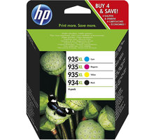 HP X4E14AE č. 934XL+935XL multipack