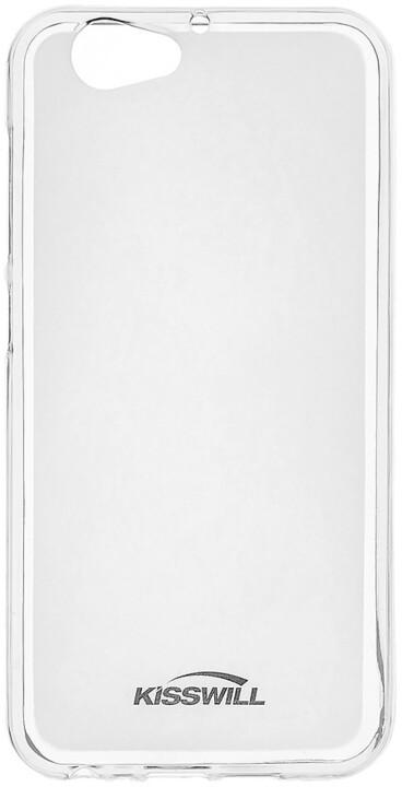 Kisswill TPU pouzdro pro HTC One A9s, transparentní