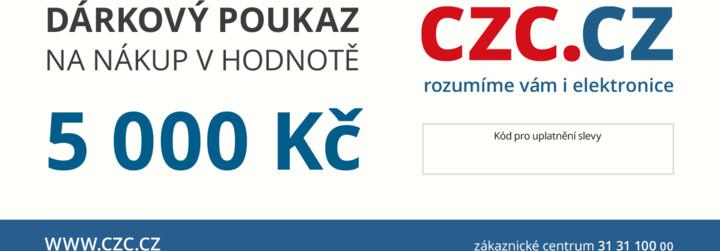Dárkový poukaz CZC.cz 5000Kč