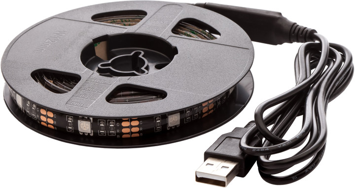 OPTY USB LED pás 150cm, RGB, integrovaný ovladač
