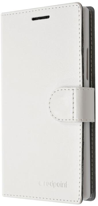 FIXED FIT pouzdro pro Samsung Galaxy J5, kolekce RedPoint, bílá