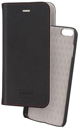 Madsen knížkové pouzdro 2 v 1 magnotické pro Apple iPhone 6/6s černé