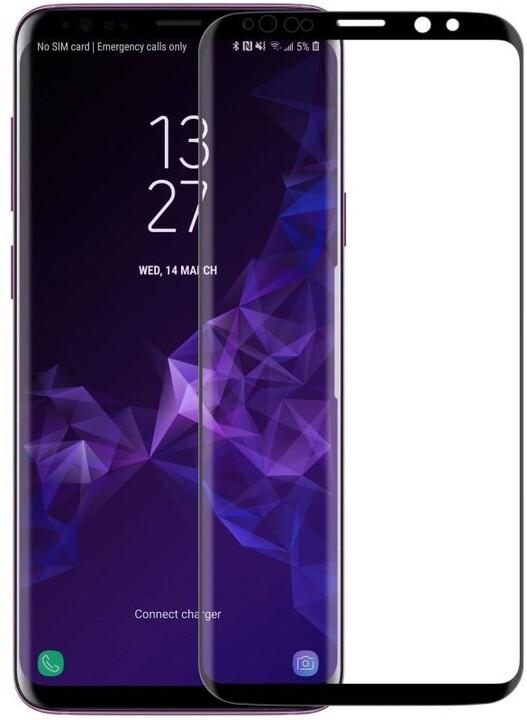 Nillkin tvrzené sklo 3D DS+ MAX pro Samsung G960 Galaxy S9, černá