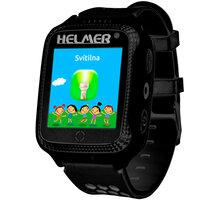 HELMER dětské hodinky LK 707, černé - LOKHEL1050