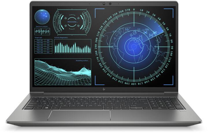 HP ZBook 15 Power G7, šedá