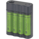 GP Charge AnyWay 2v1 + 4x AA ReCyko + funkce powerbanky