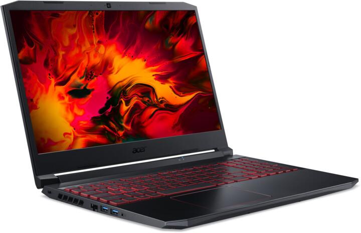 Acer Nitro 5 2020 (AN515-55-58HP), černá