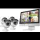 "iGET HOMEGUARD HGNVK49004, 4-kanálový HD NVR s LCD 12"" + 4x kamera HD 960p, IP66  + 300 Kč na Mall.cz"