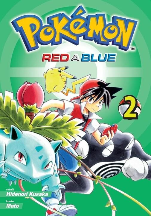 Komiks Pokémon - Red and Blue, 2.díl, manga