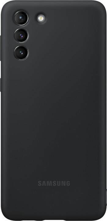 Samsung silikonový kryt pro Samsung Galaxy S21+, černá