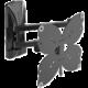 """Meliconi 480981 SlimStyle Plus 200 SDR Bianco nástěnný držák na TV s úhlopříčkou od 26"""" do 40"""", černá"""